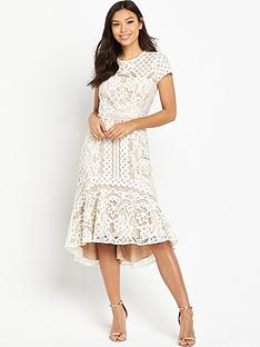 coast-dee-dee-lace-peplum-dress-neutral