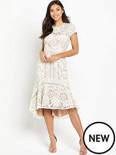 coast-dee-dee-lace-peplum-dress-neutral