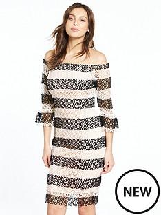 coast-anna-lucia-lace-dress-mono