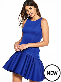 coast-crista-peplum-hem-dress