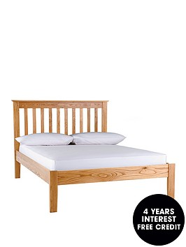 silentnight-keswick-bed-frame-with-optional-mattress