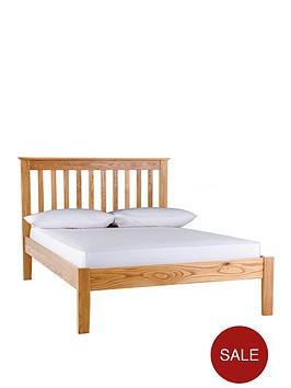 silentnight-keswick-wooden-bed-frame-with-optional-mattress