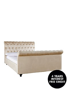 woburn-scroll-bed-frame-with-mattress-option-ndash-buy-and-save