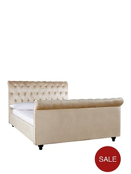 woburn-scroll-double-bed-frame-800-pocket-mattress