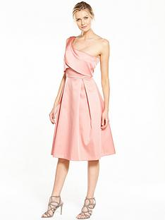 v-by-very-bonded-satin-one-shoulder-dress