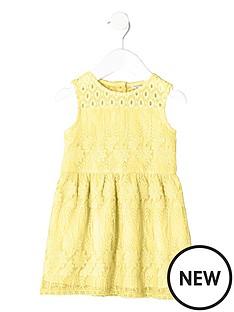 river-island-mini-mini-girls-yellow-embroidered-mesh-dress