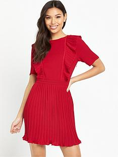 fashion-union-salim-pleat-dress-red