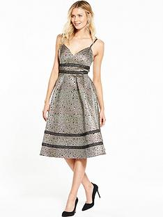 v-by-very-ladder-detail-jacquard-dress