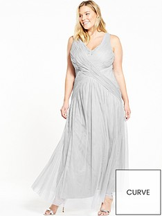 little-mistress-curve-curve-v-neck-sleeveless-maxi-dress-grey