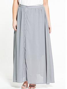 lost-ink-curve-button-through-maxi-skirt