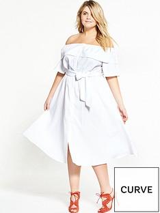 lost-ink-curve-curve-bardot-dress-in-self-stripe-white