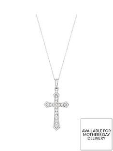 love-diamond-9-carat-white-gold-10-point-diamond-cross