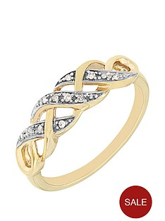 love-diamond-9-carat-yellow-gold-diamond-set-kiss-ring
