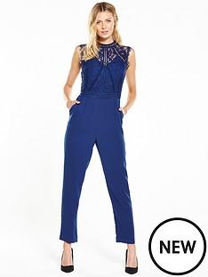 v-by-very-high-neck-lace-slimleg-jumpsuit