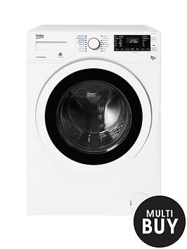 beko-wdj7523023w-freestanding-1200-spinnbsp7kgnbspwashnbsp5kgnbspdry-washer-dryer-white