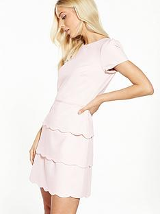 v-by-very-scallop-hem-dress