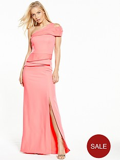 v-by-very-one-shoulder-bardot-peplum-maxi-dress