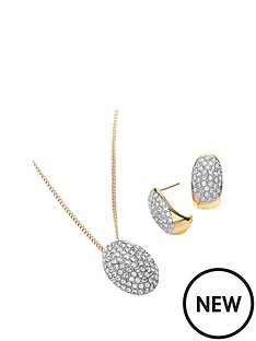 buckley-london-buckley-gold-and-rhodium-plate-cubic-zirconia-earring-and-pendant-set