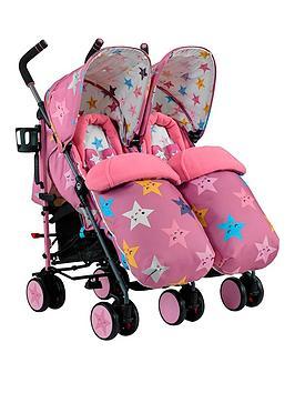 cosatto-supa-dupa-twin-stroller-happy-stars