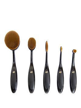 Rio Rio Essential Microfibre Cosmetic Brush Collection