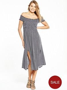 superdry-smocking-bardot-style-dress