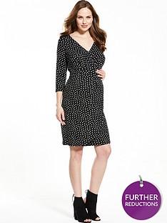 v-by-very-maternity-tea-dress-ndash-spot-print