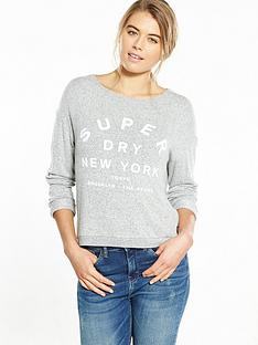 superdry-parsons-slouch-top-speckled-marl