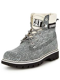 caterpillar-cat-lyric-black-crackle-ankle-boot