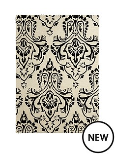 damask-wool-rug
