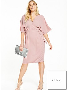 v-by-very-curve-curve-woven-wrap-kimono-sleeve-dress-nbsp--blush-pink