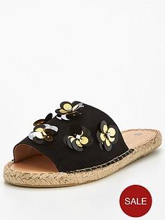 v-by-very-blossom-espadrille-slide-suede-black