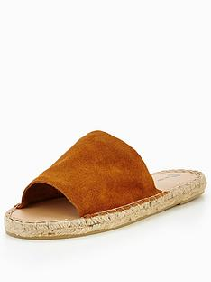 v-by-very-blossom-espadrille-slide-embellished-tan