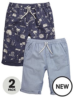 v-by-very-boys-oxford-shorts-2-pack