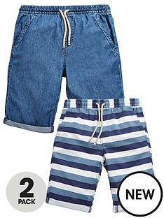 v-by-very-boys-stripe-and-chambray-shorts-2-pack