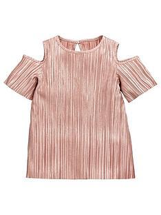 v-by-very-girls-plissenbspcold-shoulder-top