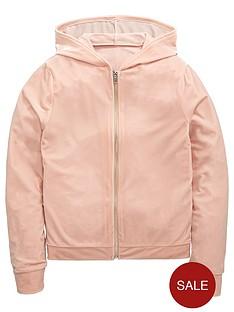 v-by-very-girls-velour-zip-through-hoodie
