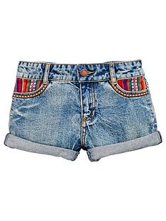 v-by-very-tex-mex-print-pocket-shorts