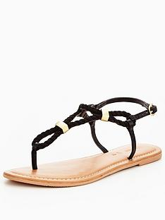 v-by-very-clementine-rope-flat-sandal-black