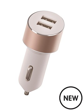 kit-platinum-dual-car-charger-34a-for-iphoneipad-airretinatabletsmartphone-with-two-usb-charging