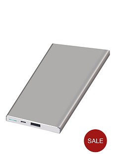 kit-platinumnbspportable-charging-power-bar-5000-mah-for-iphoneipadnbsp--silver