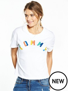 hilfiger-denim-hilfiger-denim-tommy-logo-t-shirt