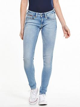Hilfiger Denim Low Rise Sophie Skinny Jean  Dynamic Dusk Blue