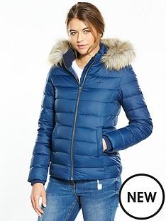hilfiger-denim-down-jacket-blue