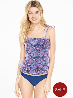 v-by-very-medallion-print-blouson-tankini-set