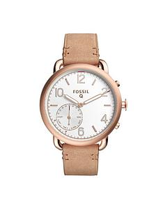 fossil-fossil-q-tailor-white-dial-leather-strap-ladies-hybrid-smart-watch