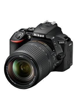 Nikon D5600 Digital Slr Camera With AfS 18140 Vr Lens