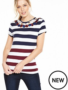 ted-baker-rowing-stripe-fitted-tee