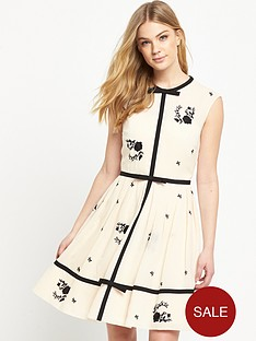 ted-baker-bow-detail-a-line-dress