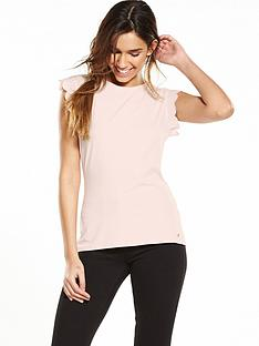 ted-baker-scallop-detail-fitted-t-shirt-baby-pink