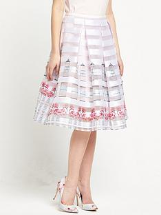 ted-baker-burnout-window-box-skirt